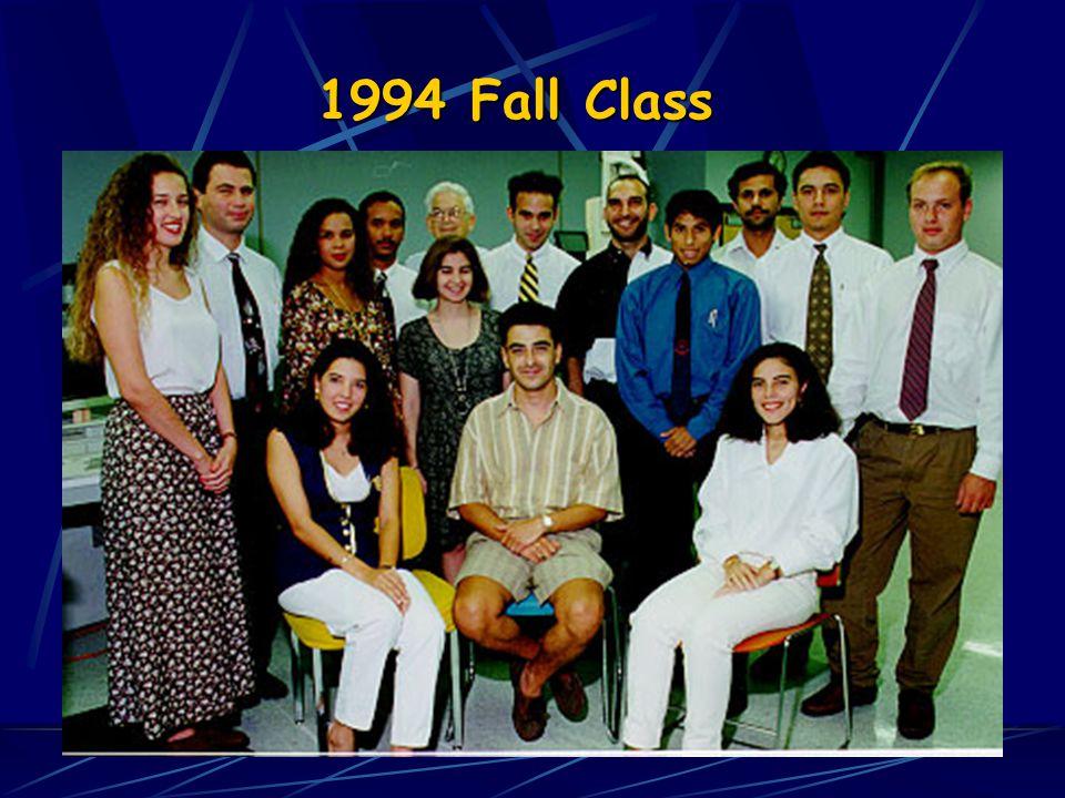 1994 Fall Class 1994 Spring Class