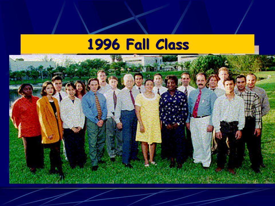 1996 Spring Class 1996 Fall Class