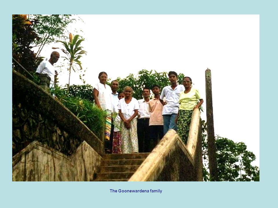 The Goonewardena family