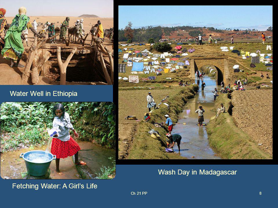 8 Wash Day in Madagascar Water Well in Ethiopia Fetching Water: A Girls Life