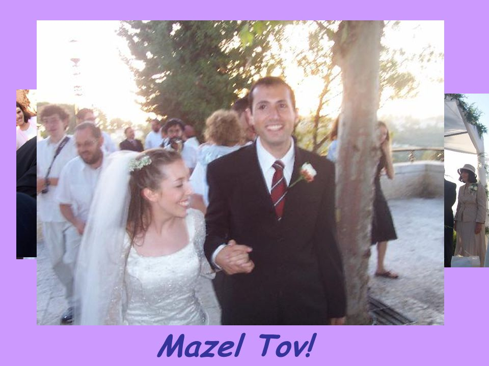 Mazel Tov!