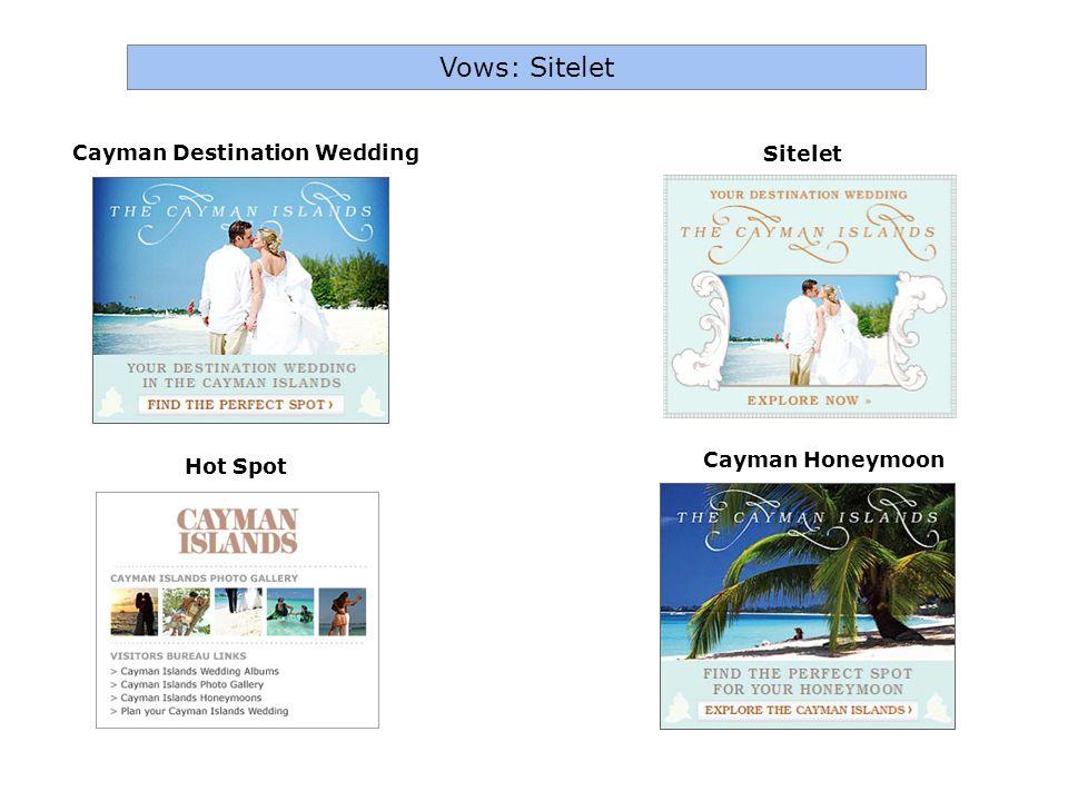 Cayman Honeymoon Cayman Destination Wedding Sitelet Vows: Sitelet Hot Spot