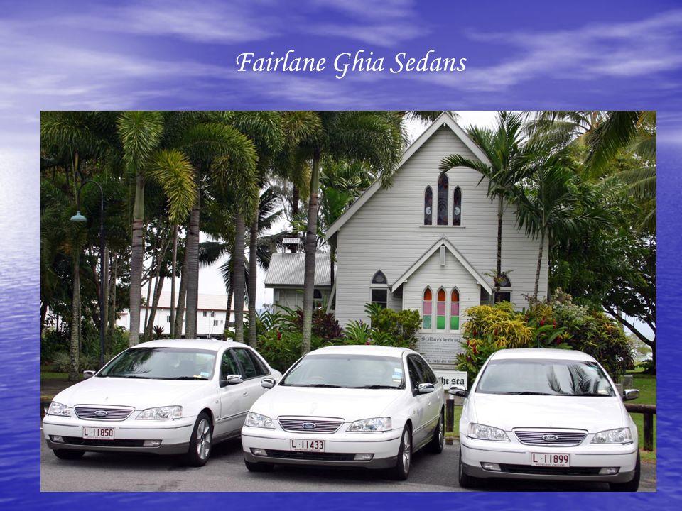Fairlane Ghia Sedans
