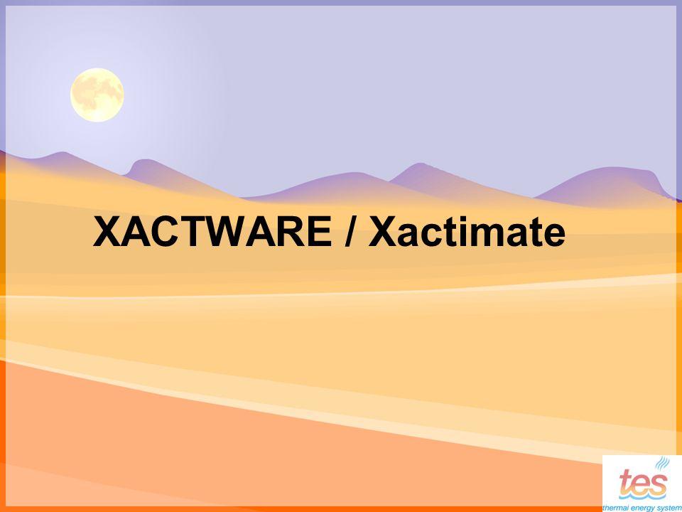 XACTWARE / Xactimate
