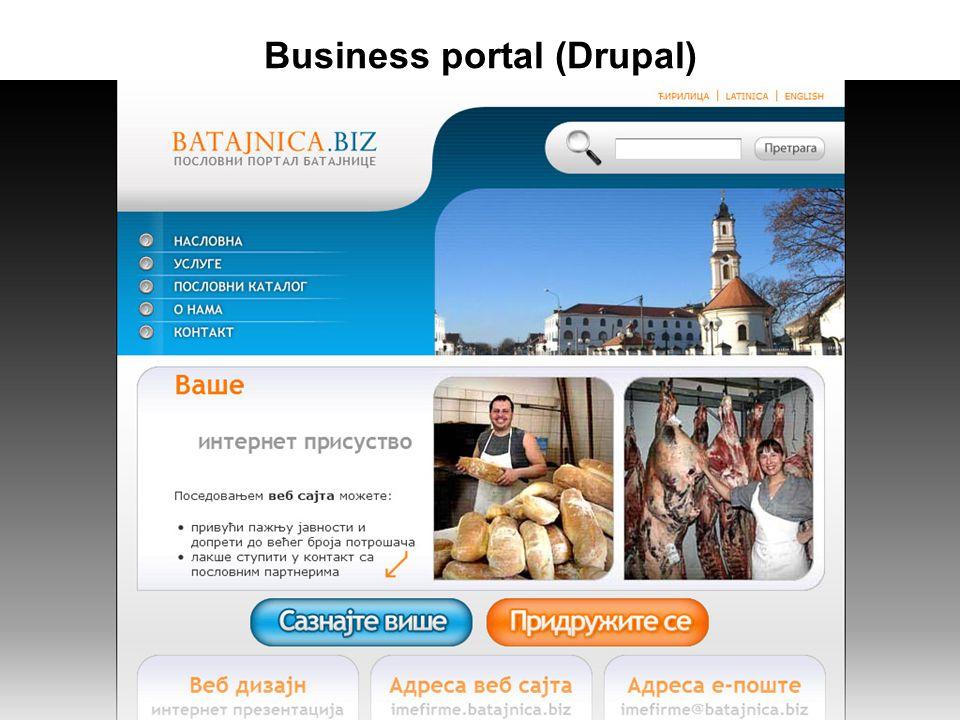 Business portal (Drupal)