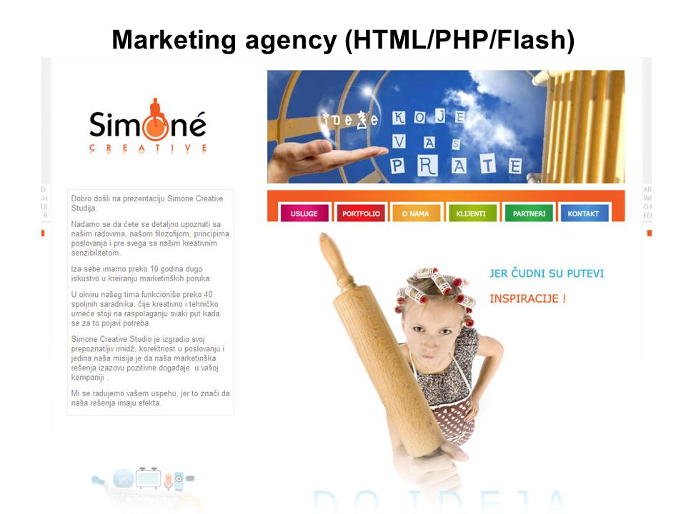 Marketing agency (HTML/PHP/Flash)