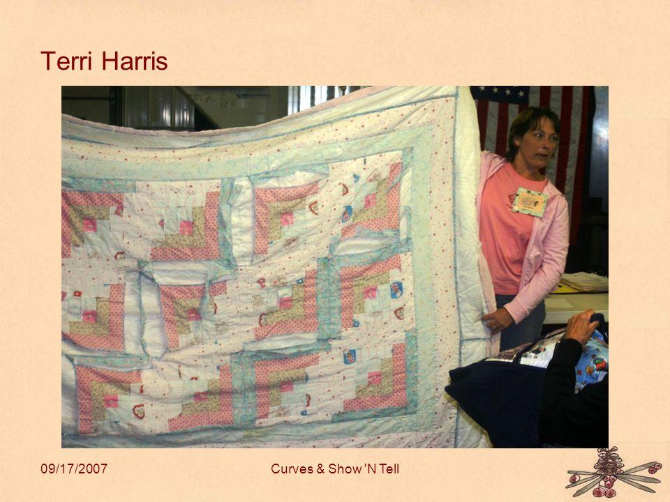 09/17/2007Curves & Show N Tell Terri Harris