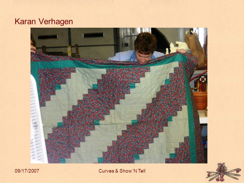 09/17/2007Curves & Show N Tell Karan Verhagen