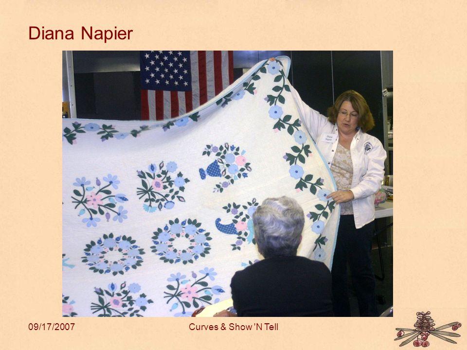 09/17/2007Curves & Show N Tell Diana Napier