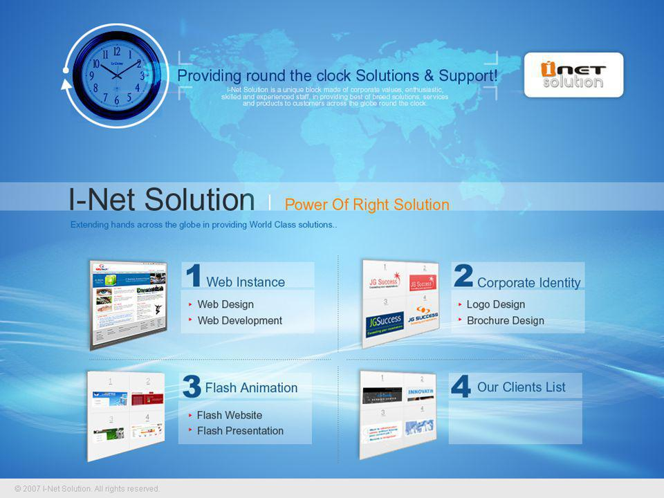 i-Net solution, now a professional Service and Product oriented company was floated in the year 2003 with Website Design & Development being the prime services being offered.