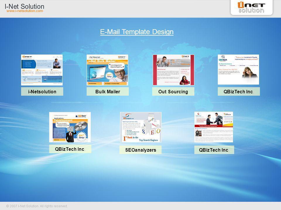 E-Mail Template Design QBizTech Inc.