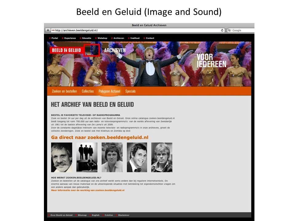Beeld en Geluid (Image and Sound)