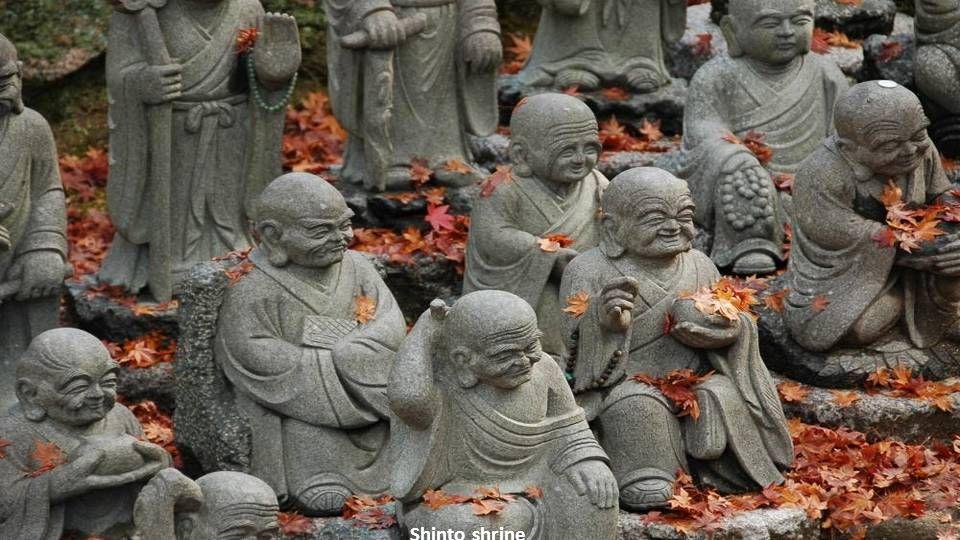 Buddhist meditation in the Zen temple Eheji