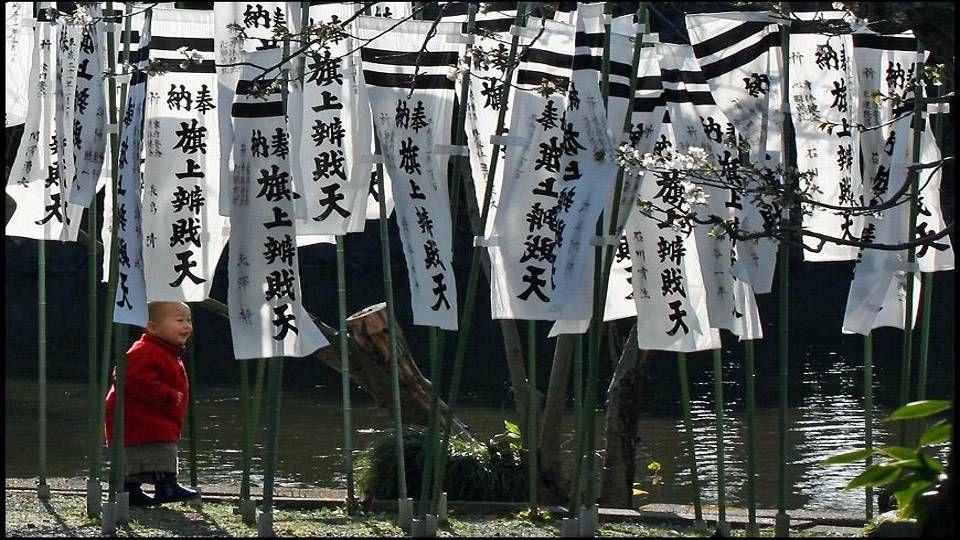 Samurai defending the honour of Tokugawa Shogunate