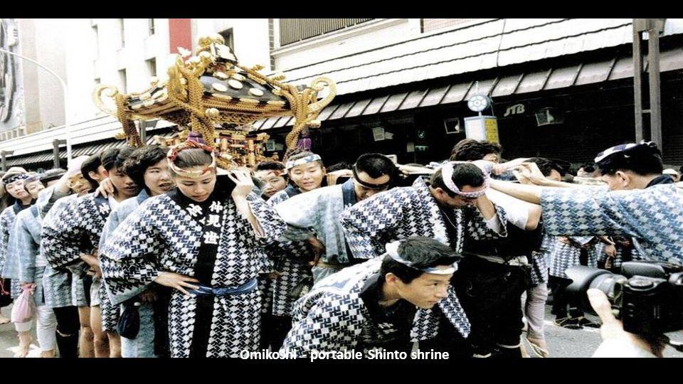Omikoshi - portable Shinto shrine