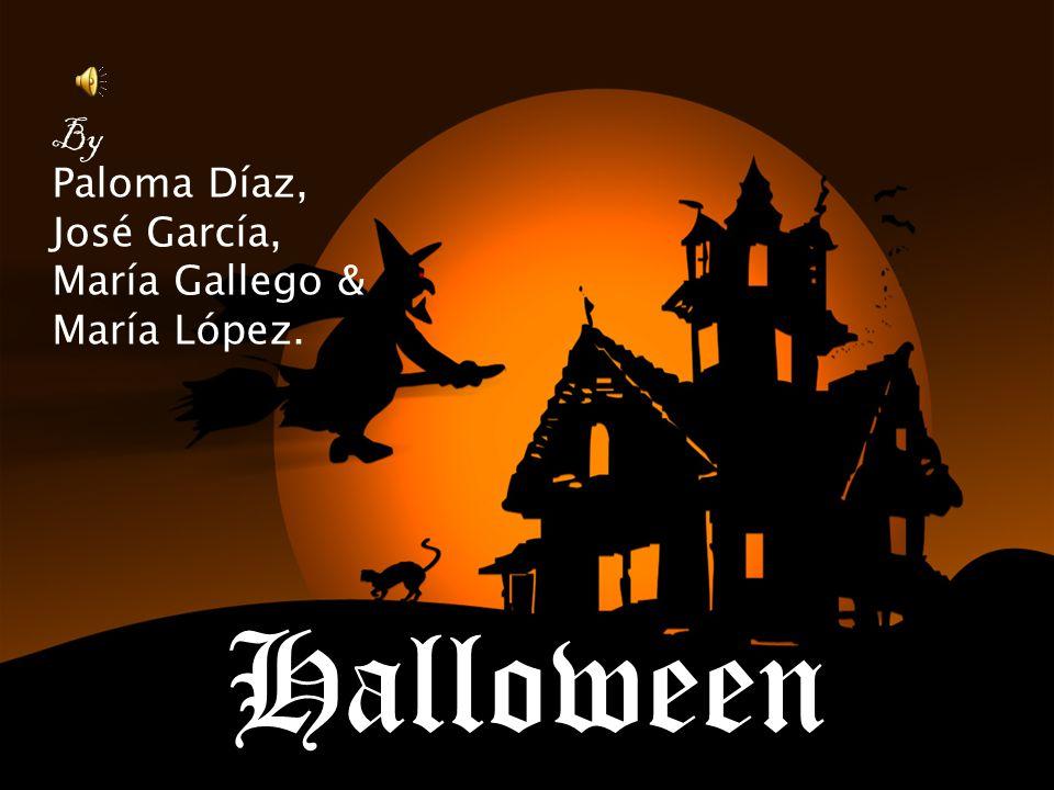 Halloween By Paloma Díaz, José García, María Gallego & María López.
