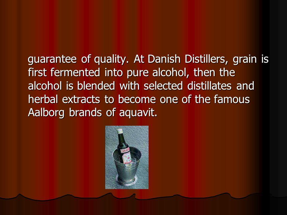 guarantee of quality.