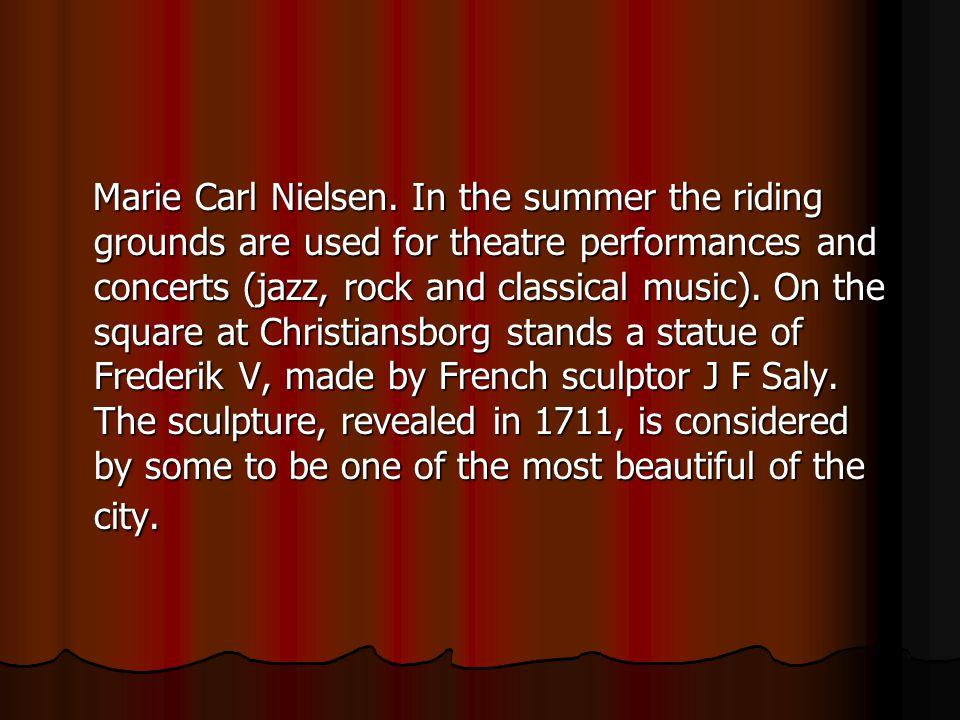 Marie Carl Nielsen.