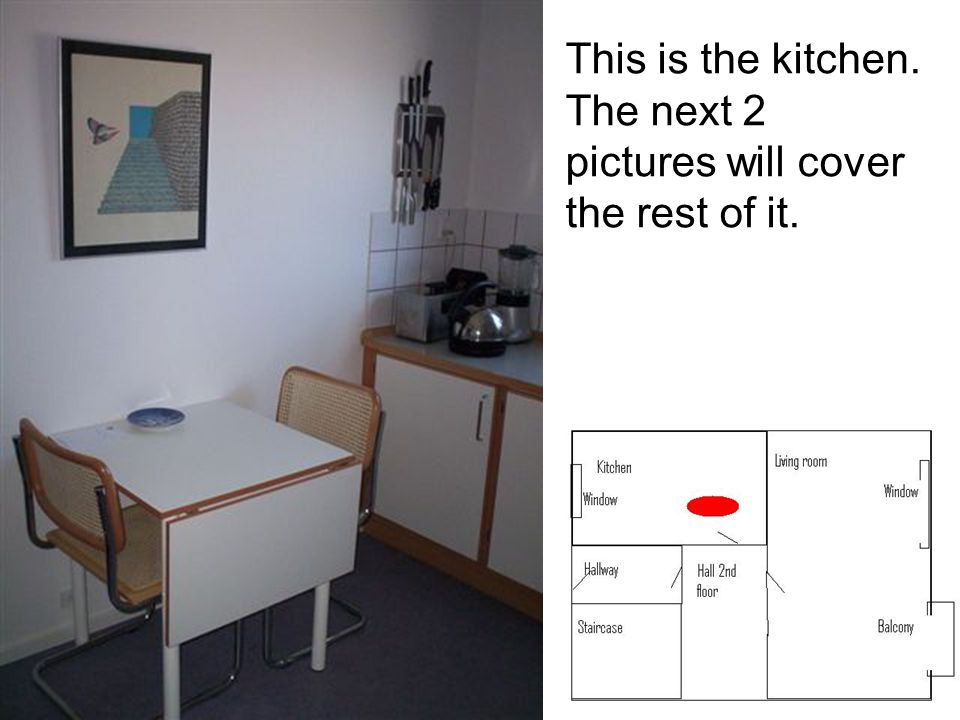 This is the kitchen. The next 2 pictures will cover the rest of it.