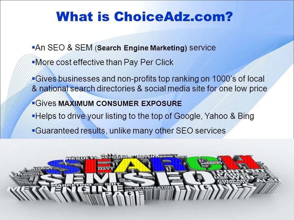 3 What is ChoiceAdz.com.