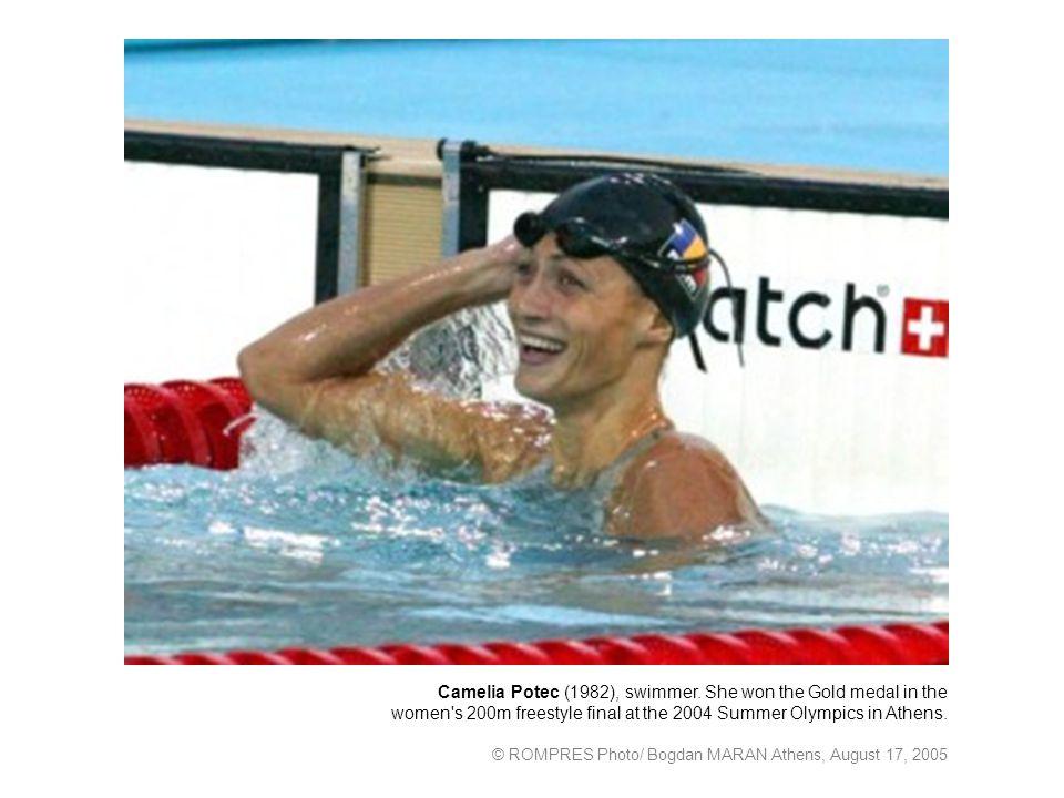 Camelia Potec (1982), swimmer.
