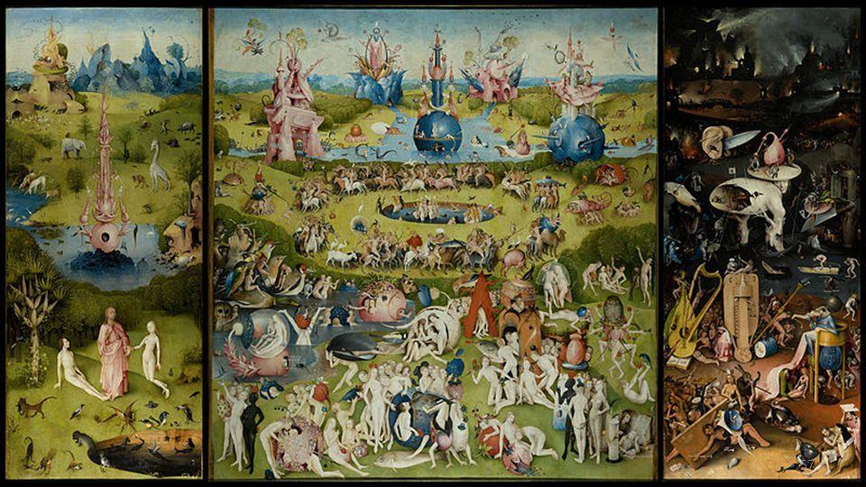 Hieronymus Bosch (English pronunciation: /ˌhaɪ.əˈrɒnɨməs ˈbɒʃ/, Dutch: [ɦijeːˈɾoːnimʏs ˈbɔs]; born Jheronimus van Aken Dutch pronunciation: [jeɪˈɾoːni