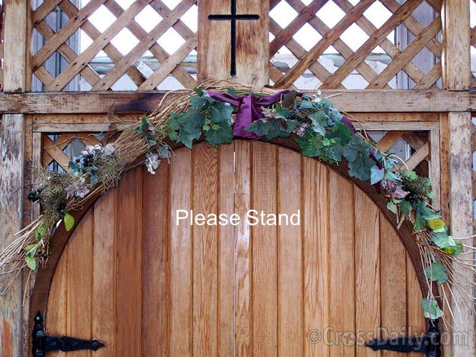 Please Stand