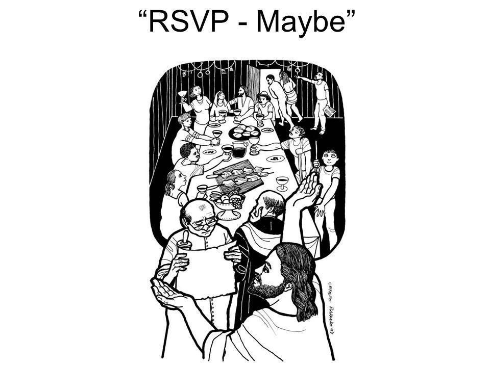 RSVP - Maybe