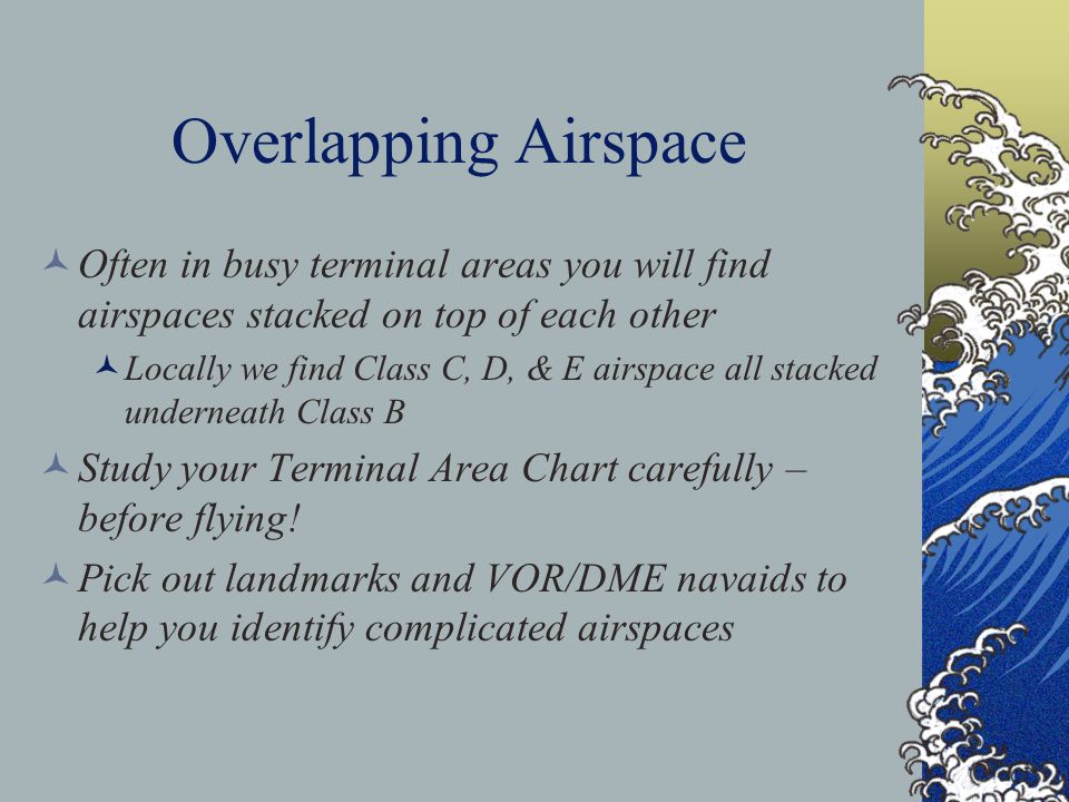 You can find Class G airspace on the hard side of the blue that denotes Class E Airspace Check your AFD for airport terminal areas (typically Class D)