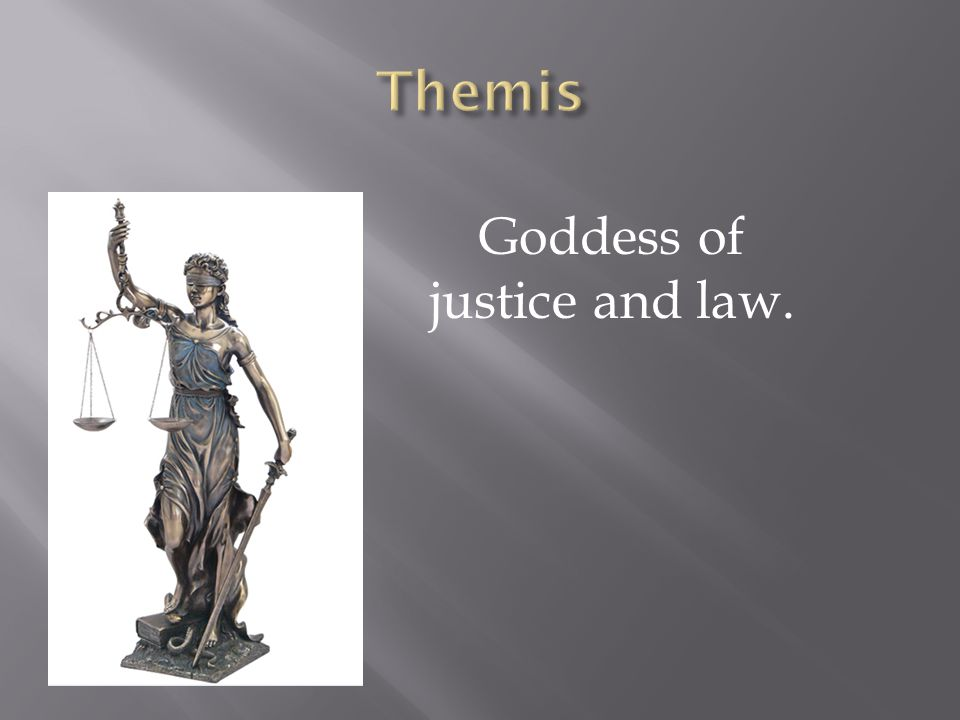 Goddess of Divine Justice and Anger