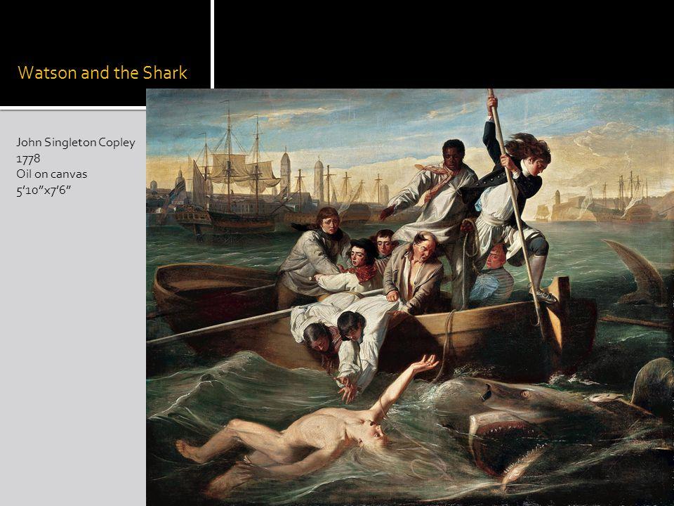 Watson and the Shark John Singleton Copley 1778 Oil on canvas 510x76