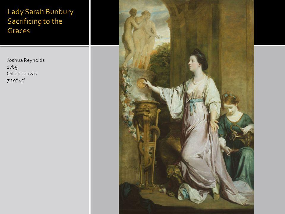 Lady Sarah Bunbury Sacrificing to the Graces Joshua Reynolds 1785 Oil on canvas 710x5