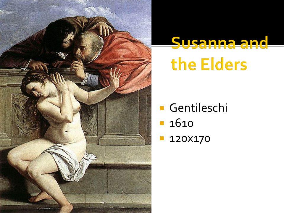 Gentileschi 1610 120x170