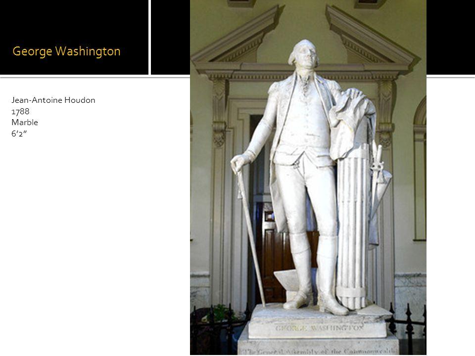 George Washington Jean-Antoine Houdon 1788 Marble 62