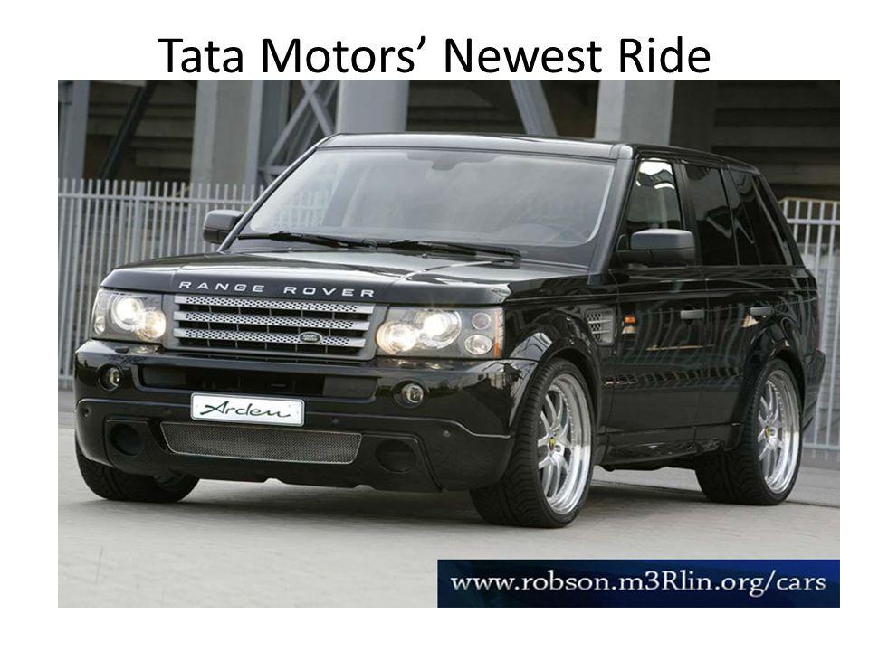 Tata Motors Newest Ride