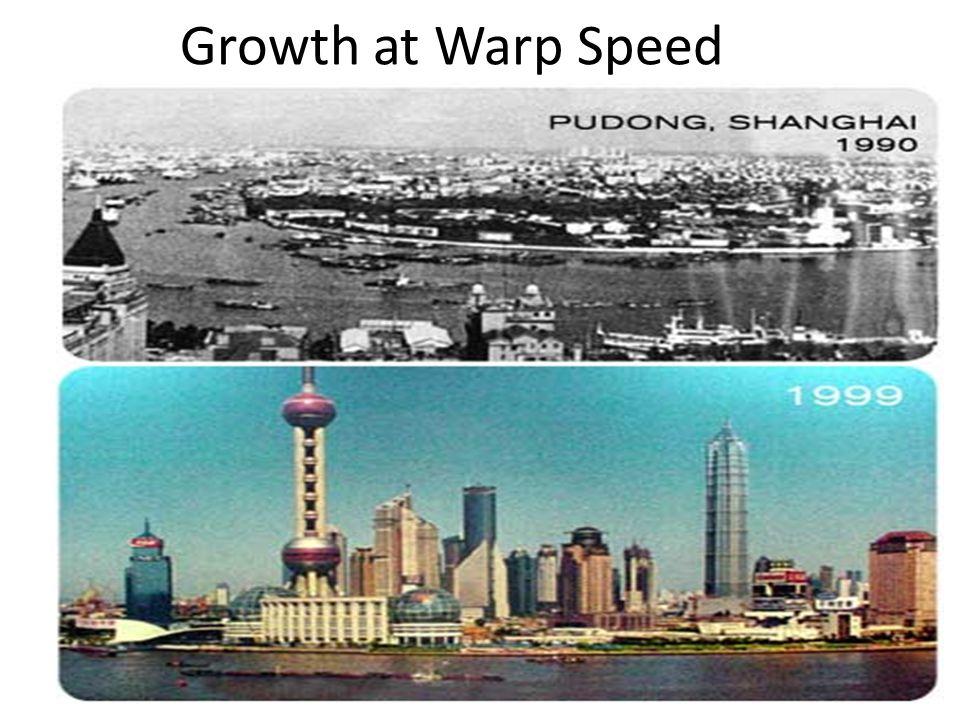 4 Growth at Warp Speed