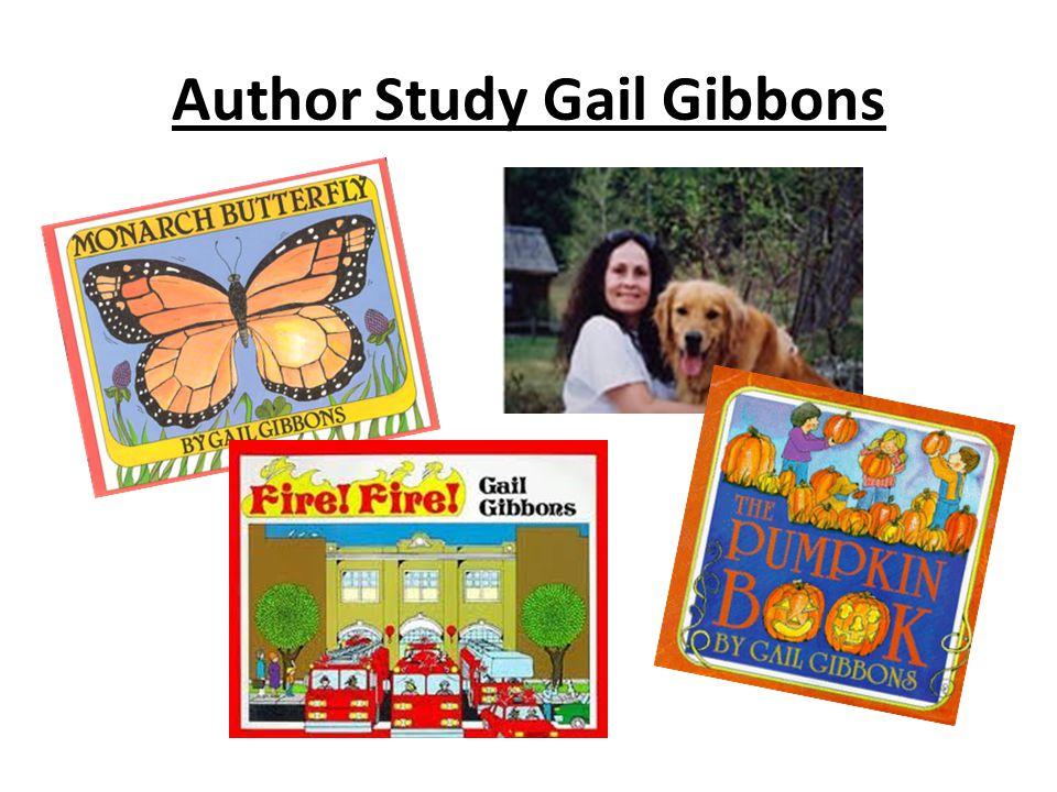 Author Study Gail Gibbons