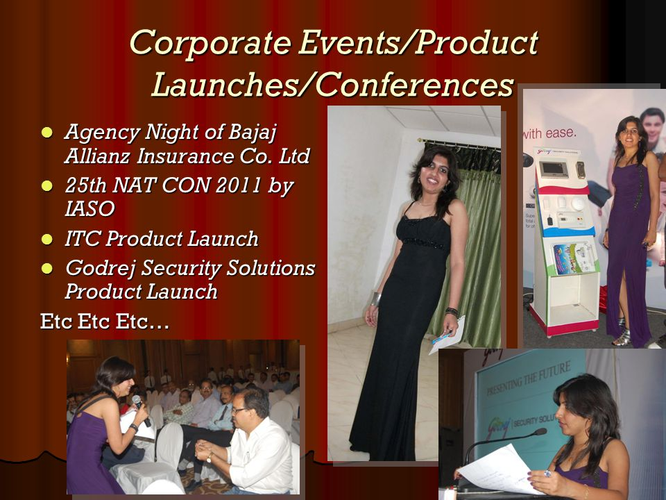 Corporate Events/Product Launches/Conferences Agency Night of Bajaj Allianz Insurance Co. Ltd Agency Night of Bajaj Allianz Insurance Co. Ltd 25th NAT