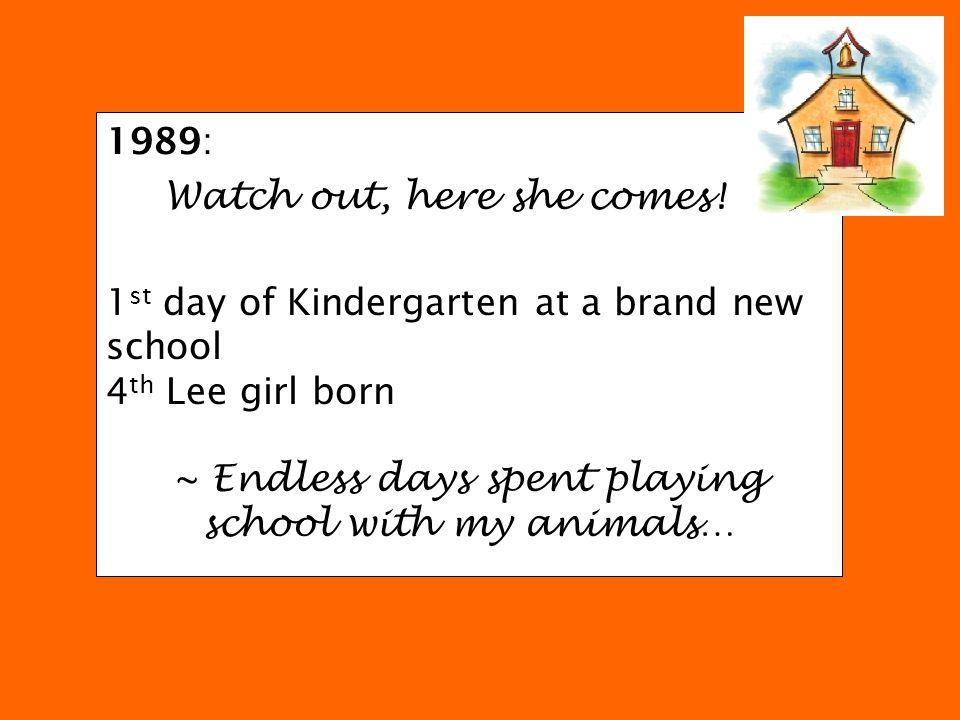 1994: A musician is born.