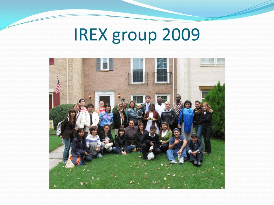 IREX group 2009
