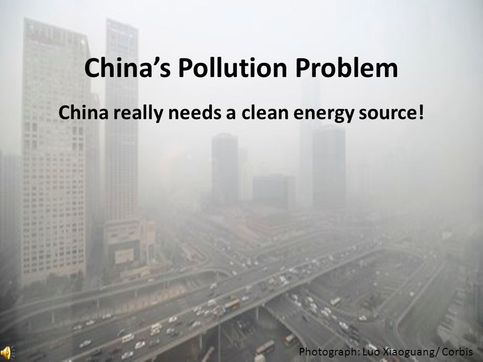 China has an overpopulation problem.Simple things turn into major issues with large populations.