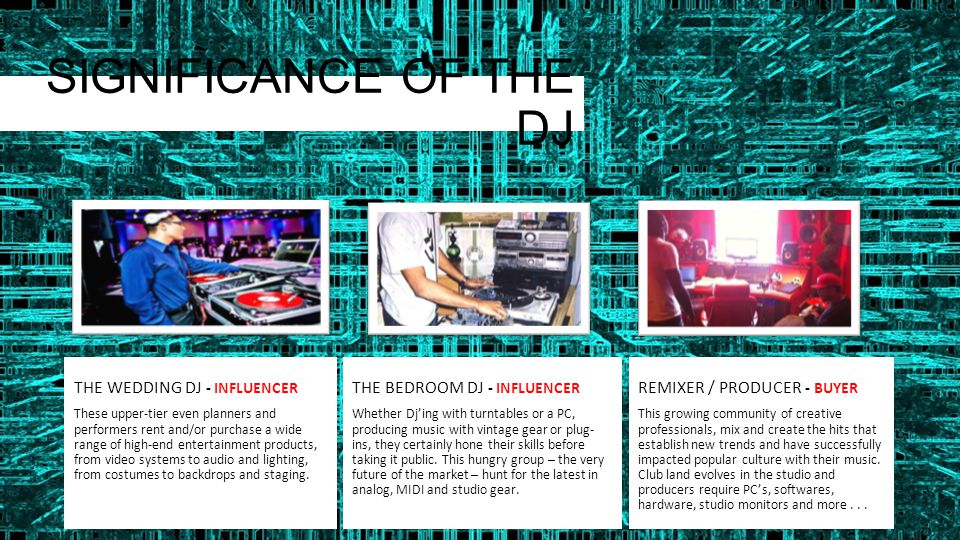 THE TRADE THAT WILL ATTEND DJs Owner/Manager – RESTAURANTS / BAR SOUND CONTRACTOR / INSTALLER LIGHTING INSTALLER PROJECT CONSULTANT / DESIGNER RENTAL COMPANY EVENT MANAGEMENT COMPANY AUDIO RETAILER / DEALER LIGHTING EQUIPMENT DEALER RETAILER – MUSIC MEDIA MANUFACTURERS ARTISTS / MUSICIANS MUSIC ENTHUSIASTS RECORD LABELS MEDIA - PRINT/ONLINE LOCAL AUTHORITIES COMMERCIAL VENUES NIGHT CLUBS RESTO BARS LOUNGES GYMKHANAS TEEN ACTIVITY CLUBS and more...