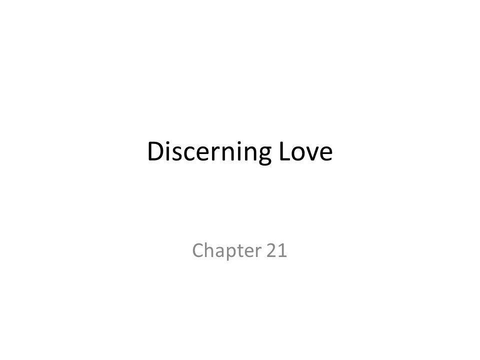 Discerning Love Chapter 21