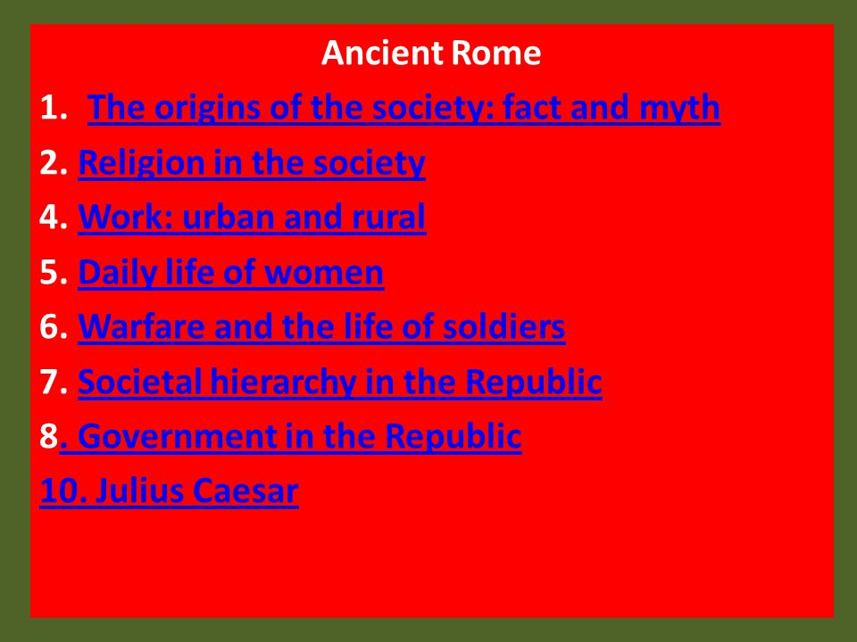 Religion in the Roman society The Romans launched a fierce campaign of persecution against the Christians and Jews who refused to worship the huge number of Roman gods and goddesses.