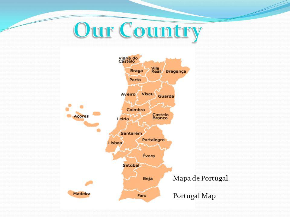 Mapa de Portugal Portugal Map