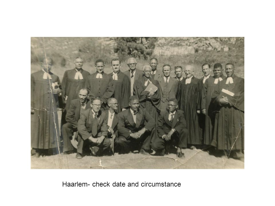 Haarlem- check date and circumstance