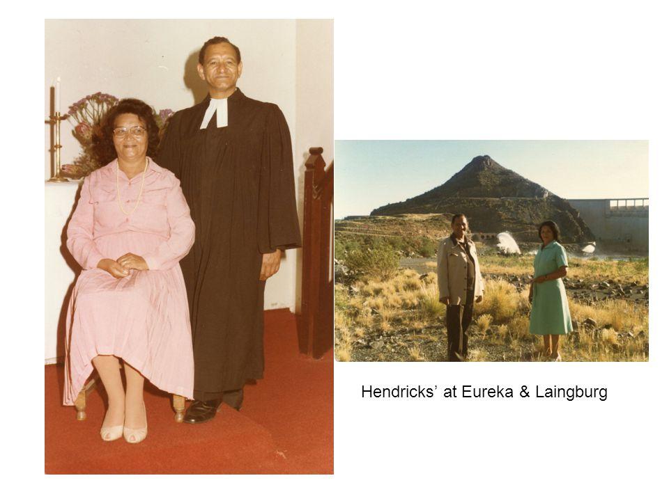 Hendricks at Eureka & Laingburg