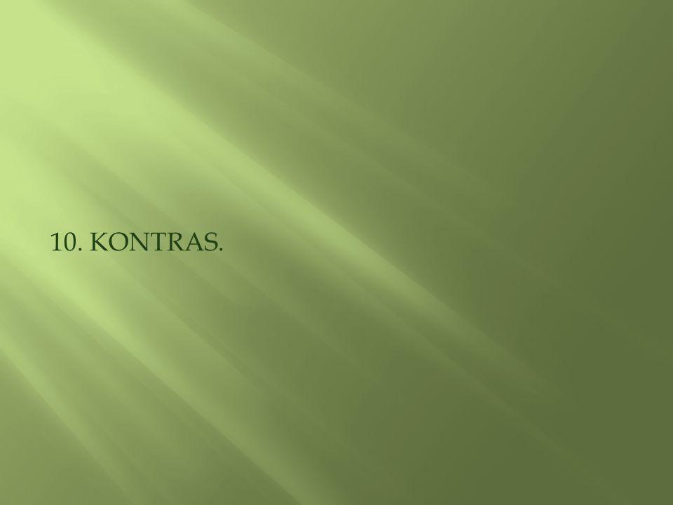 10. KONTRAS.