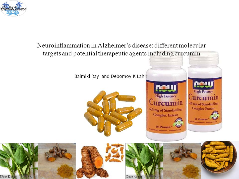 18 Neuroinflammation in Alzheimers disease: different molecular targets and potential therapeutic agents including curcumin Balmiki Ray and Debomoy K