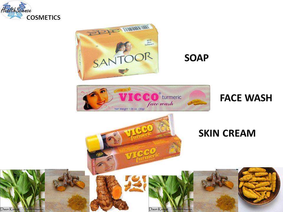COSMETICS SOAP FACE WASH SKIN CREAM 5
